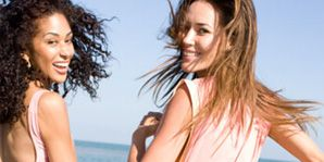 Hair, Arm, Fun, People, Hairstyle, People on beach, Photograph, Leisure, Happy, Standing,