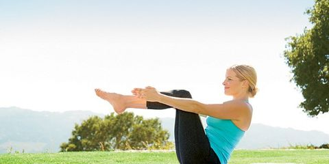 Finger, Grass, Shoulder, Elbow, Wrist, Happy, People in nature, Leisure, Physical fitness, Gesture,
