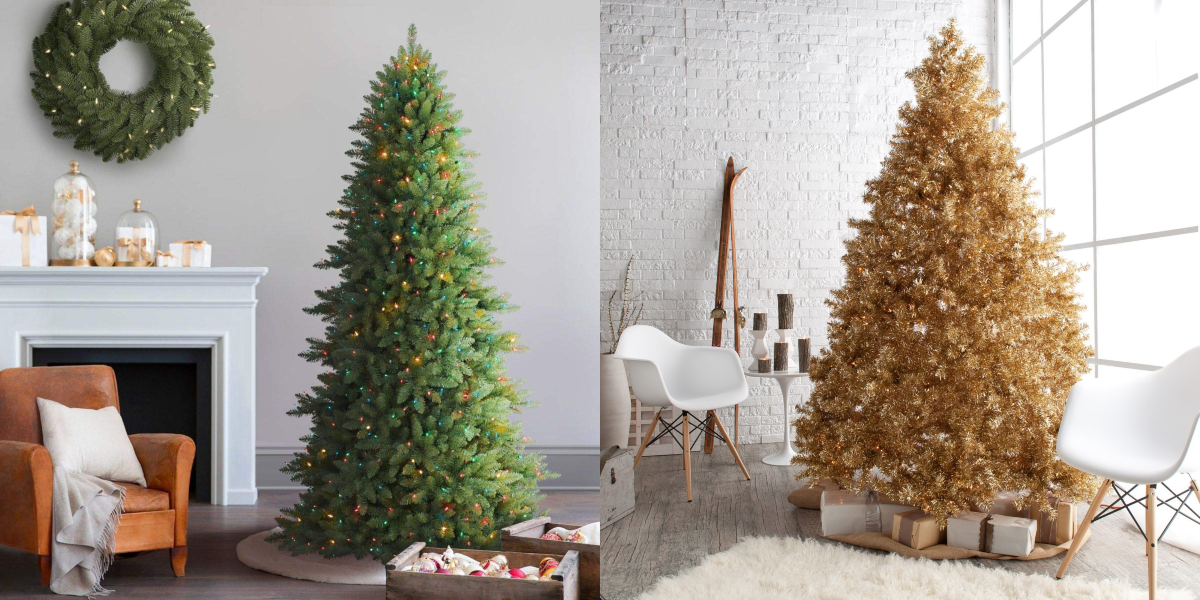 Artificial Christmas Tree.15 Fake Christmas Trees That Are Actually Better Than The Real Thing
