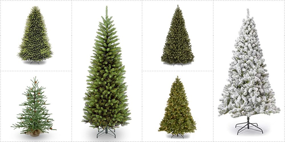 The 10 Best Artificial Christmas Trees To Brighten The Holidays