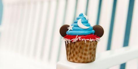 Frozen dessert, Dessert, Food, Baking cup, Cupcake, Ice cream cone, Ice cream, Buttercream, Cake, Baking,