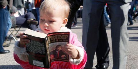 Child, Toddler, Baby, Reading, Smile,
