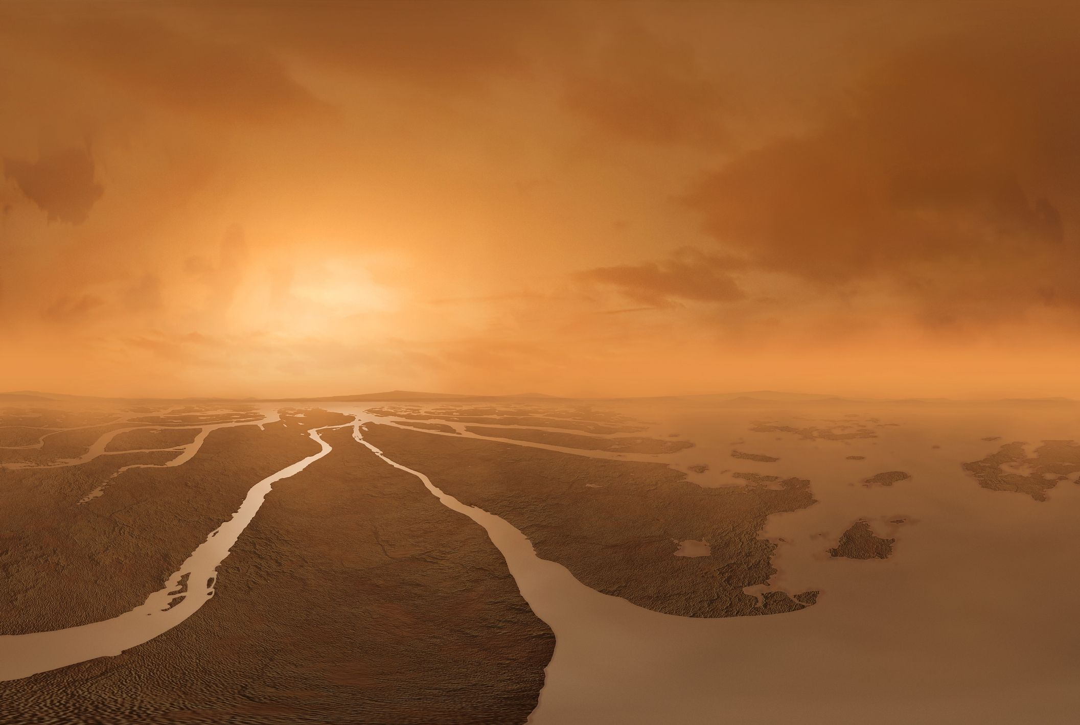 Titan's New Geologic Map Shows Why It's One of the Most Exciting Moons in the Solar System