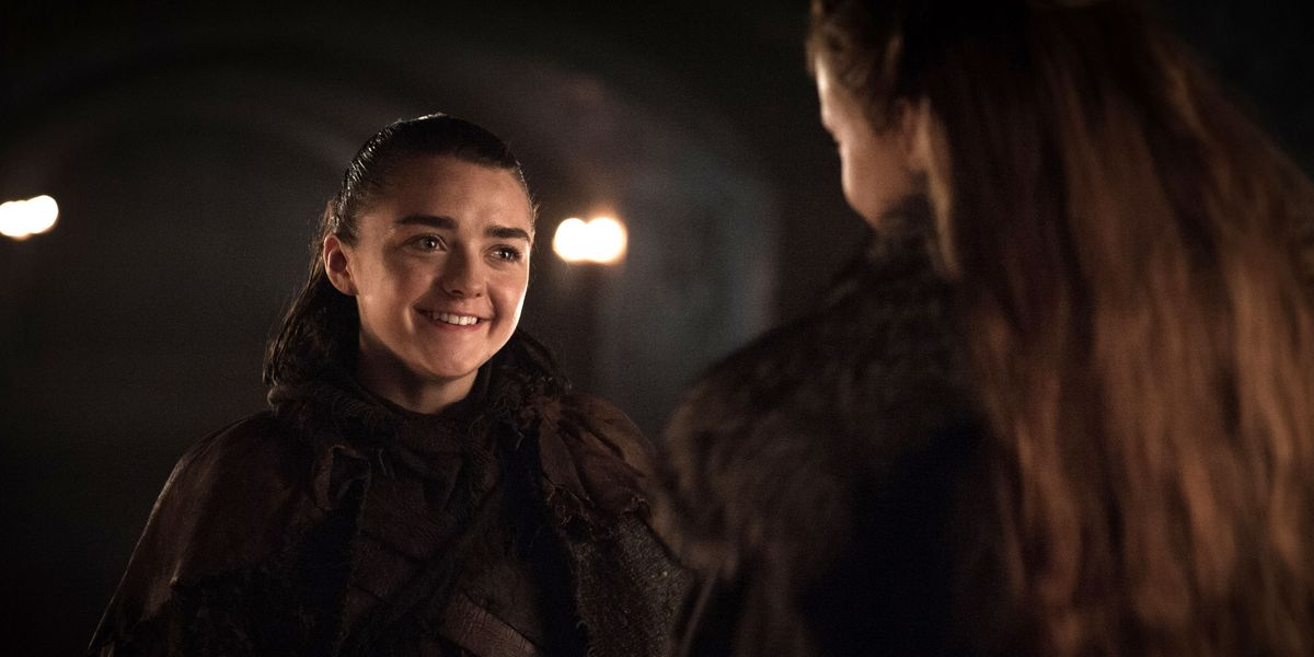 Game Of Thrones Co-Stars Maisie Williams And Sophie Turner -6703