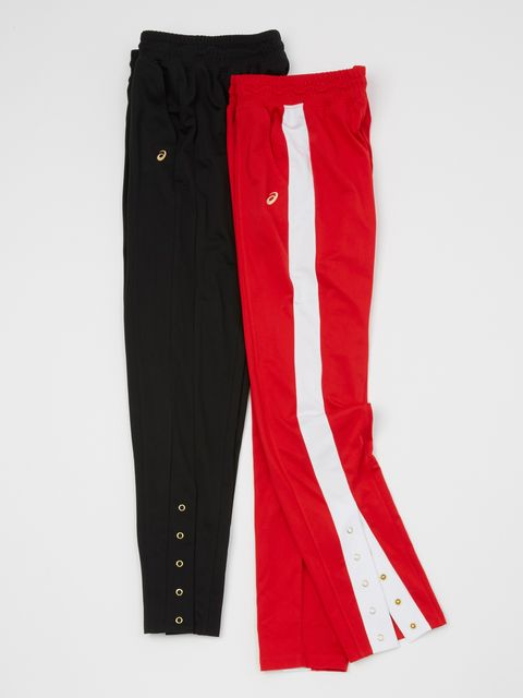 Clothing, Active pants, Sportswear, Red, sweatpant, Trousers, Pocket,