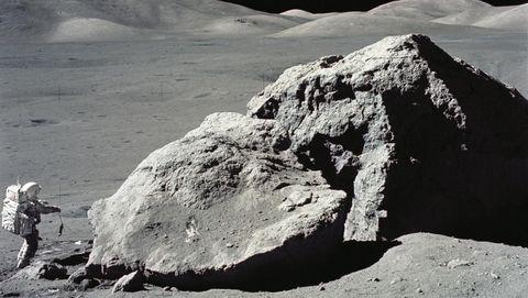Maanstenen worden op aarde door de Nasa bewaard