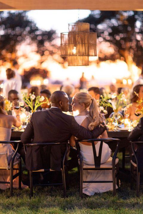 le couple au dîner