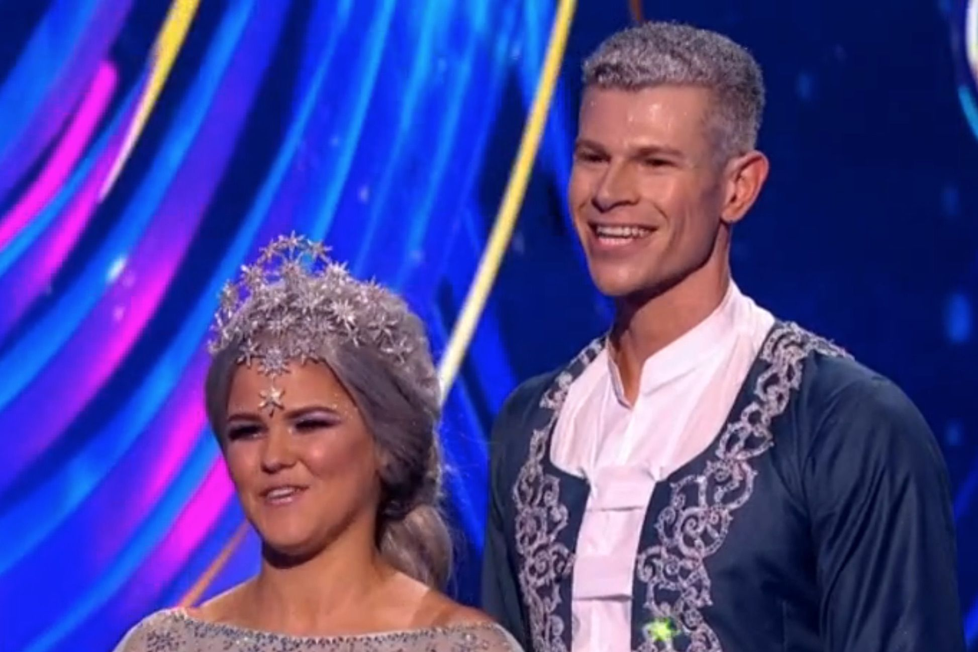 Dancing on Ice's Saara Alto sang during her musical week number — and fans LOVED IT