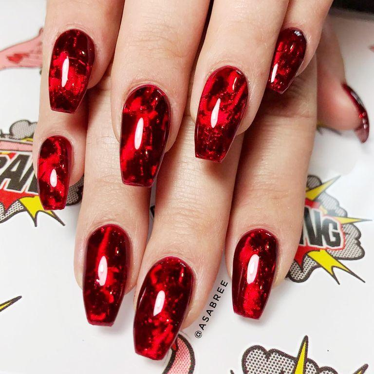 Audacious Fake Halloween Nails