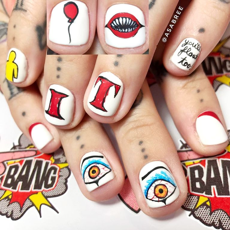 17 halloween nail art ideas for 2017 cute nail designs for instagram prinsesfo Choice Image