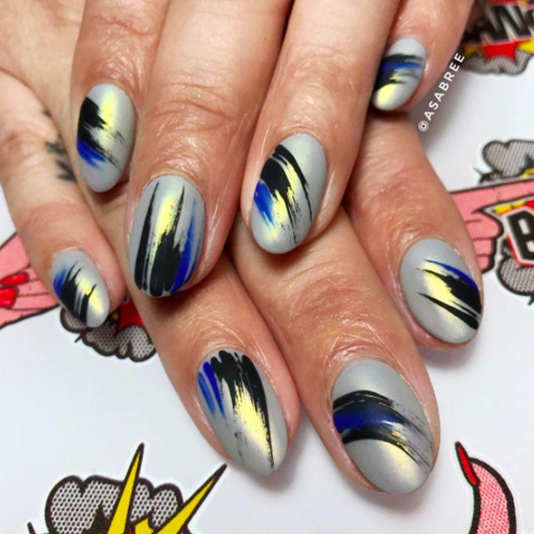 Nail Art New: New Year's Nail Art