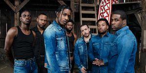 A$AP Rocky en la campaña de Calvin Klein
