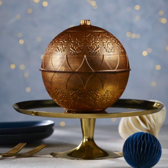 asda chocolate orange christmas bauble