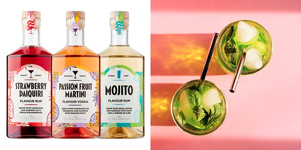 Asda's Cocktail Spirits Come In Three Flavours, And They Look Insane