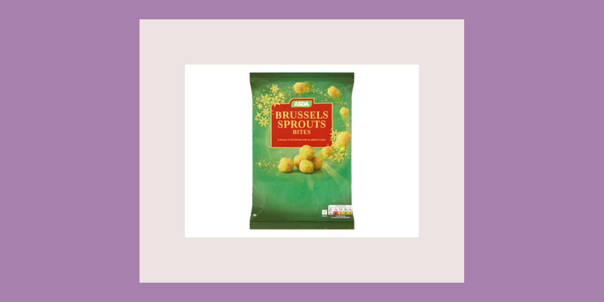 Asda is selling brussels sprout flavoured crisps