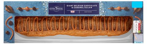Asda's Huge Chocolate And Caramel Éclair Is Back For Christmas