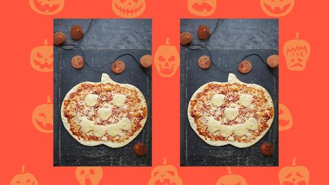 Asda Is Selling The Cutest Pumpkin Shaped Pizzas