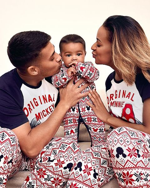 Best matching family Christmas pyjamas UK   Family Christmas