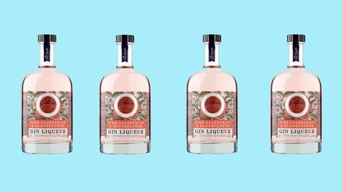 Asda grapefruit pink gin
