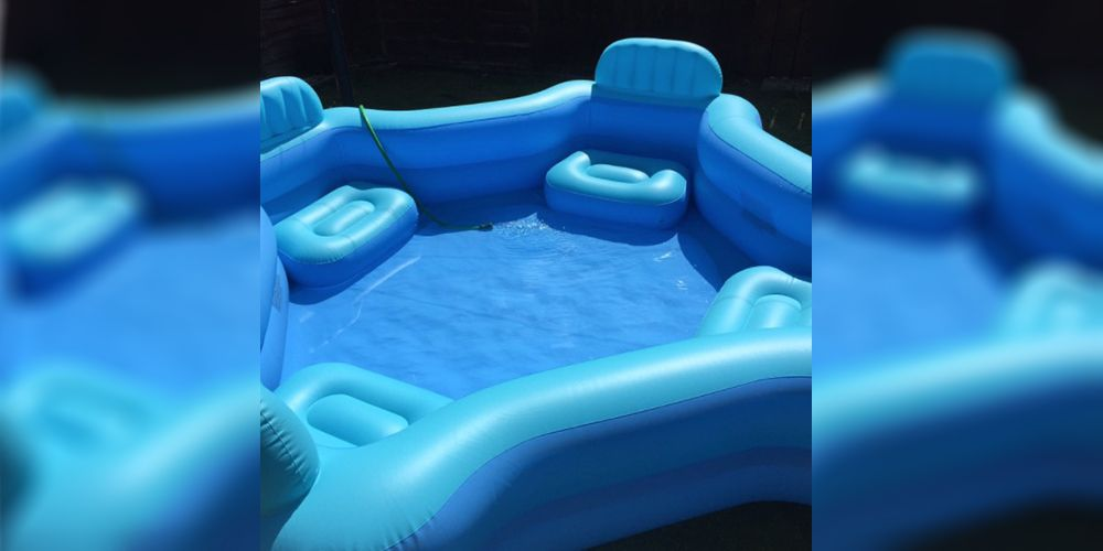 This Asda inflatable pool will save you during the heatwave