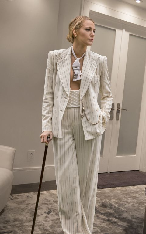 A Simple Favor Designer Breaks Down Blake Lively S Pantsuits
