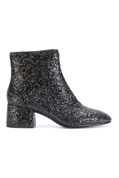 Footwear, Boot, Shoe, Leather, Glitter, Suede,