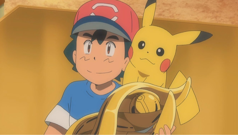 Ash gana liga pokemon
