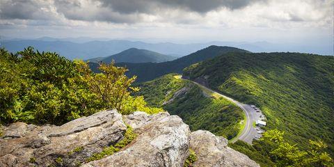 Blue Ridge Parkway,Asheville — North Carolina