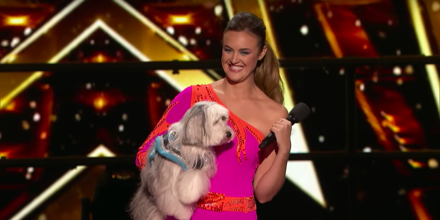 Ashleigh and Sully on America's Got Talent: The Champions