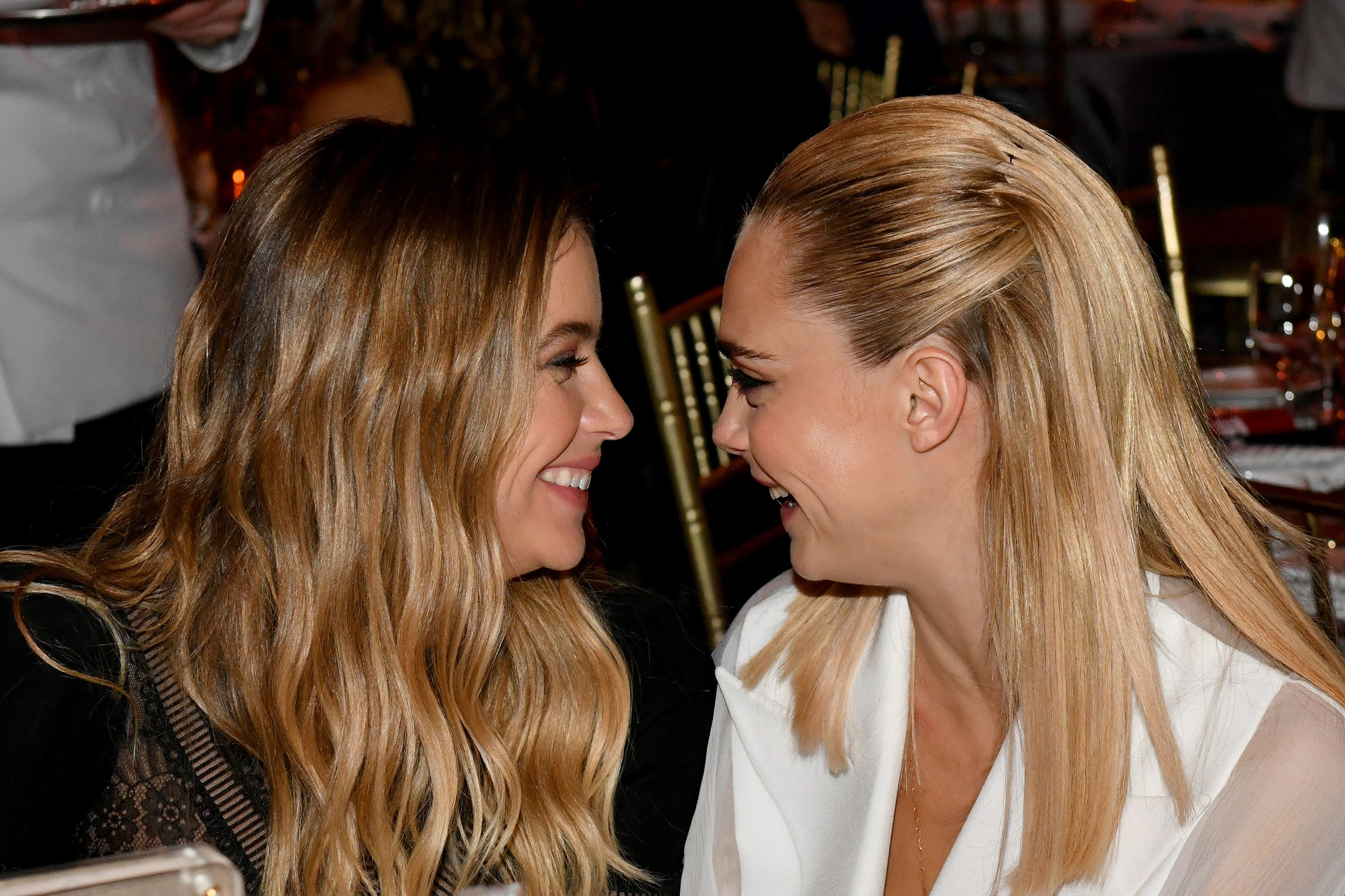 Cara Delevingne And Ashley Benson Kiss And Confirm Dating Rumors Cara And Ashley Relationship Timeline