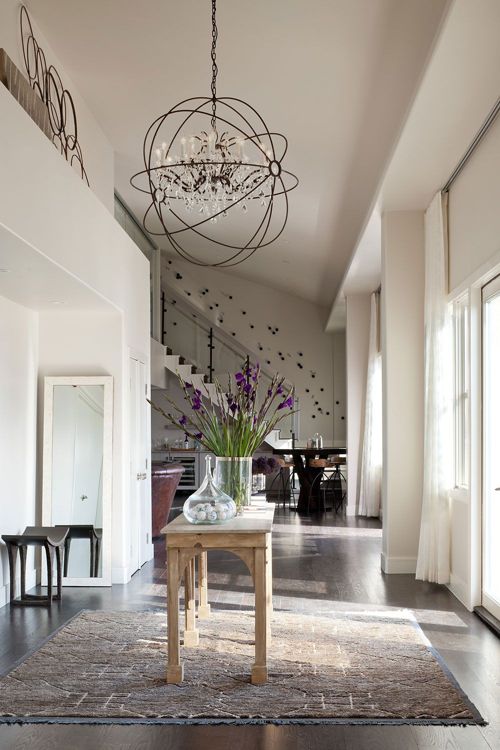 Entryway Lighting Ashley Campbell Interior Design