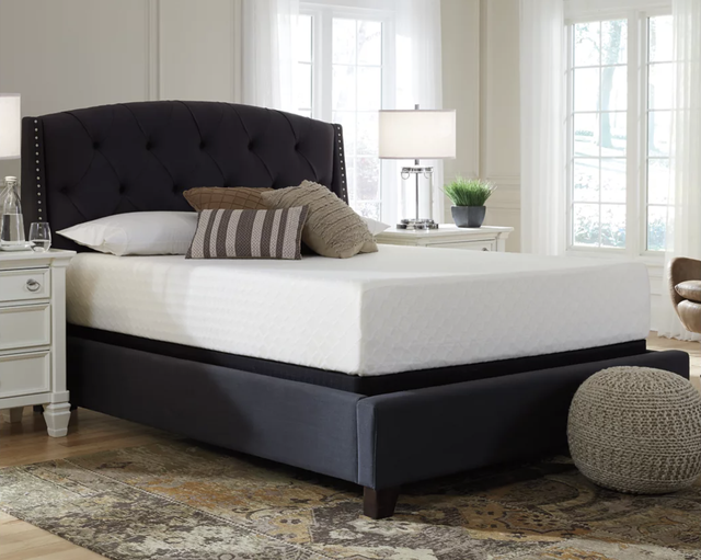 ashley furniture memory foam mattress