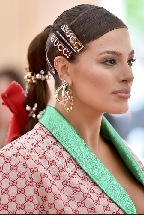 barrettes fall hair trends 2019 The 2019 Met Gala Celebrating Camp: Notes on Fashion - Arrivals