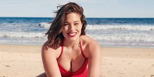 Ashley Graham beach body confidence tips