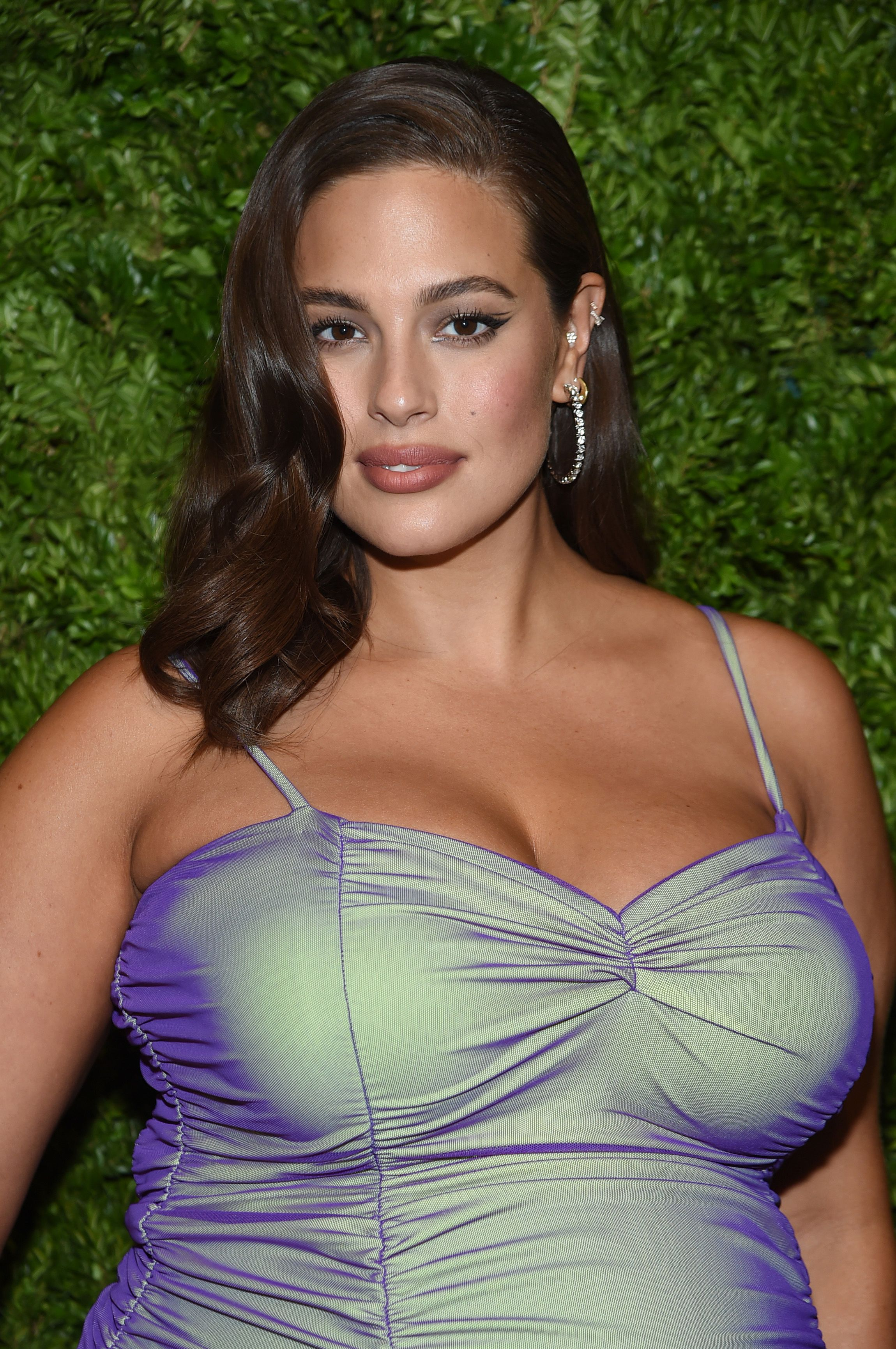 Ashley Graham's £3 eyebrow hack gives you the fluffy brows of dreams