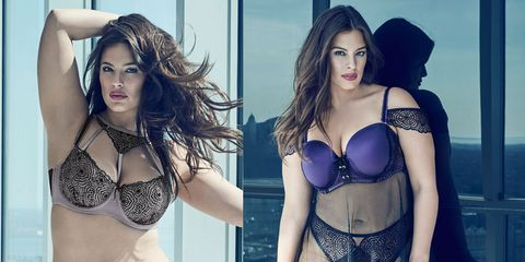 Ashley Graham's new lingerie collection will make you want to get undressed immediately