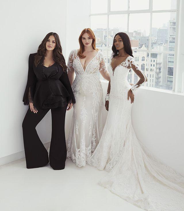Ashley Graham launches plus-size wedding dress collection