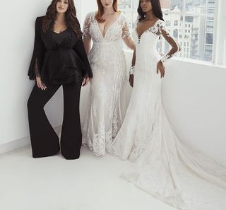 Ashley Graham Launches Plus Size Wedding Dress Collection,Wedding Guest White African Dresses For Church