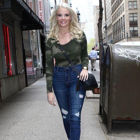 Celebrity Sightings In New York - April 25, 2019