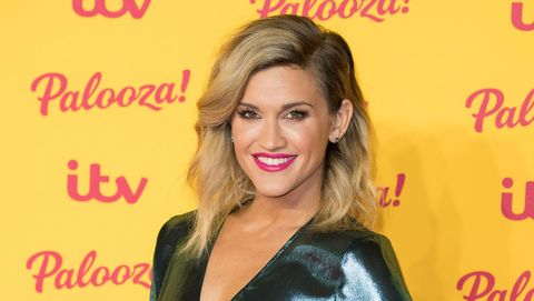 Ashley Roberts in October 2018