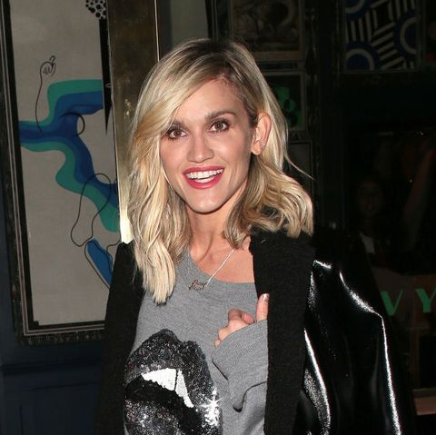 Ashley Roberts wows in pink M&S suit