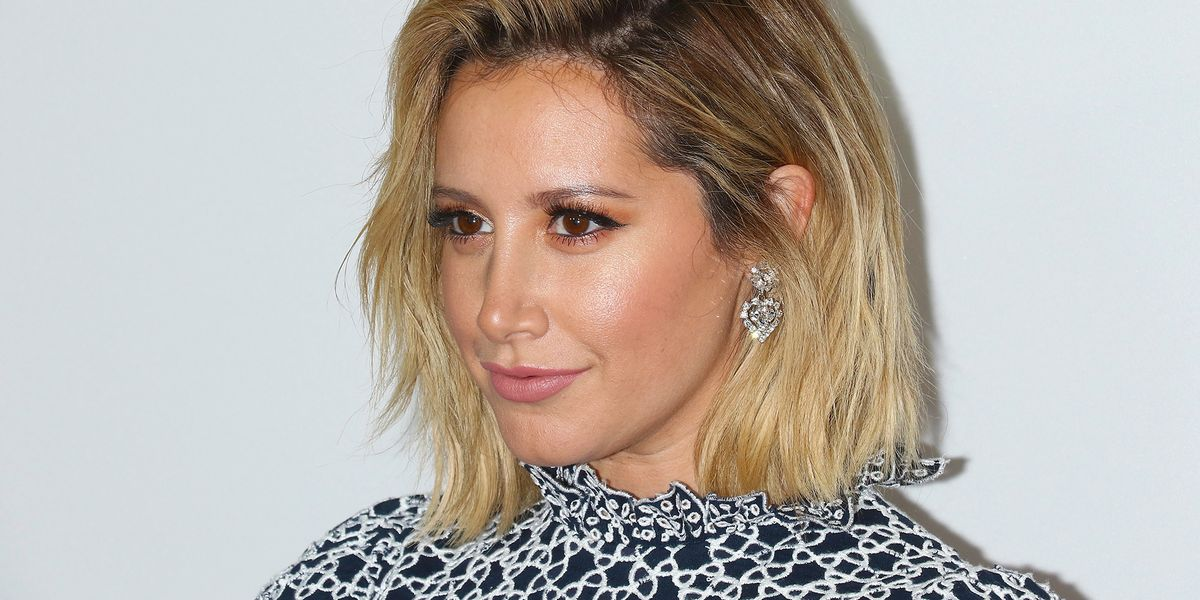 Ashley Tisdale Has A Pink Bob Haircut Now And The Pics Are