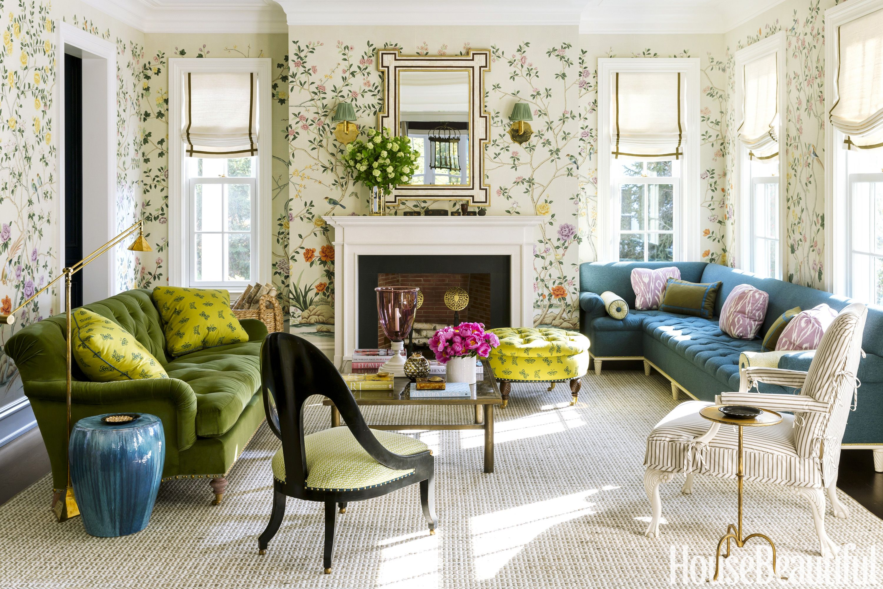 ashley whittaker living room house tours - Home Design Inspiration