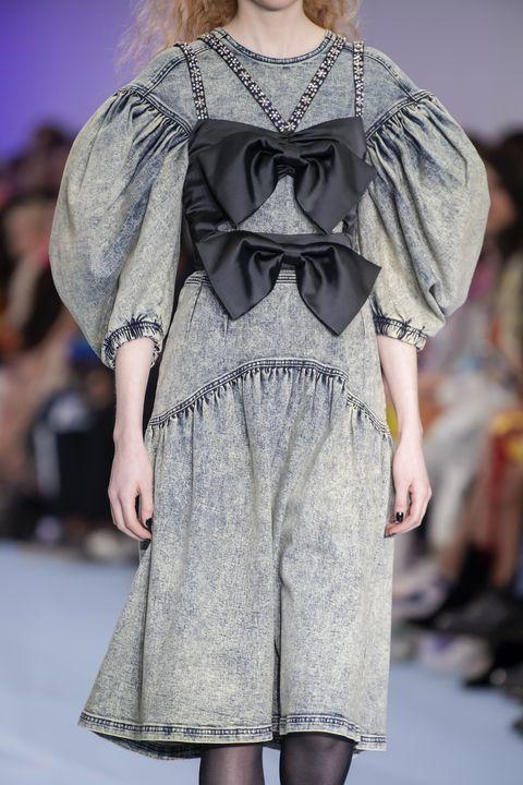 vestiti moda inverno 2021 maniche a palloncino