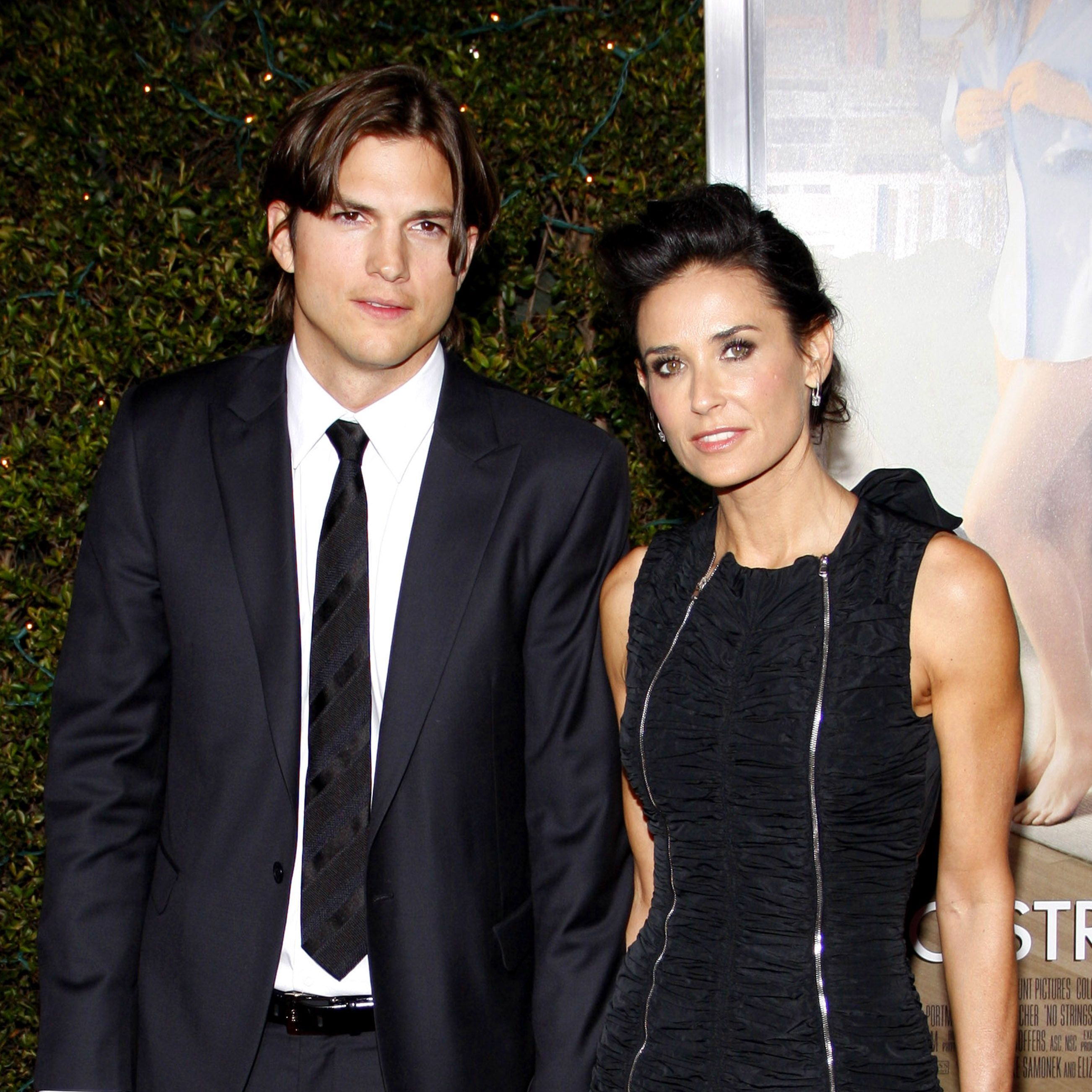Ashton Kutcher and Demi Moore People were floored when Ashton and Demi got together, largely due to their 15-year age difference. But the two seemed like a good match and publicly supported each other during their six-year marriage.