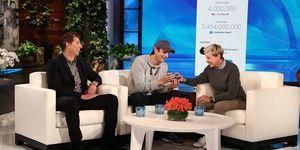 Ashton Kutcher on The Ellen DeGeneres Show
