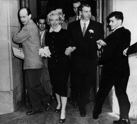 Marilyn Monroe Joe DiMaggio boda