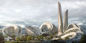 Así sería una ciudad inteligente según Zaha Hadid Architects