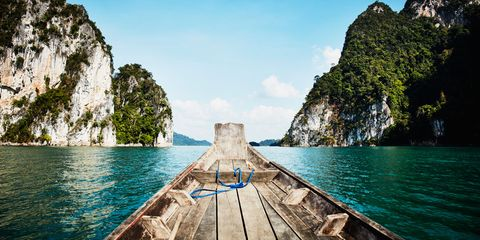 Body of water, Nature, Coastal and oceanic landforms, Water, Natural landscape, Rock, Terrain, Sea, Azure, Formation,