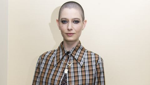 "Asia Kate Dillon at the ""Billions"" Press Conference"
